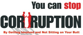 Stop Political Corruption by Getting Involved