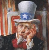 Uncle Sam Sad