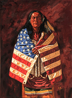 flag-rt0121 american 40x30-2-robert-tate-oil-painting