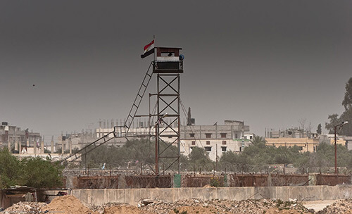 Egyptian Security Tower