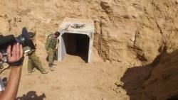 Yaakov Lappin Photo Gaza Tunnel 1