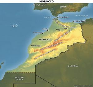 morocco topography2