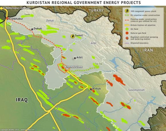 0001322231-Kurdistan oil Fields
