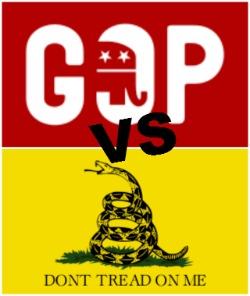 GOP versus Tea Party