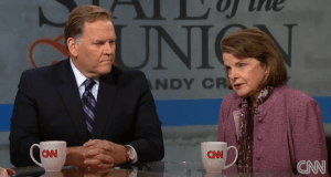 Mike Rogers and Dianne Feinstein Photo Credit CNN