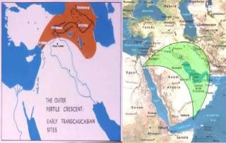 map iran crescent