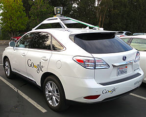 298px-Googles Lexus RX 450h Self-Driving Car