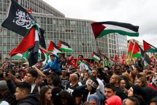 Muslim anti Israel Germany