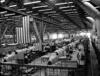 Ventura bombers production line