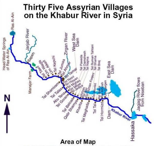 35 Assyrian Villages