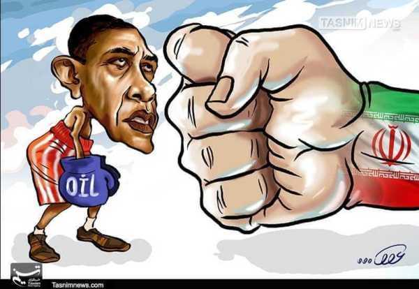 Iranian cartoon encapsulates Tehrans view of President Obama