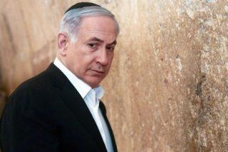 Netanyahu at kotel