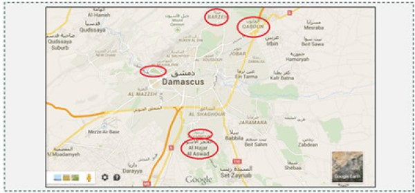 1 ISIS main centers of activity