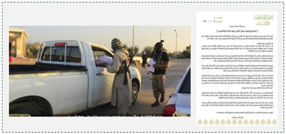 4 ISIS operatives distributing leaflets