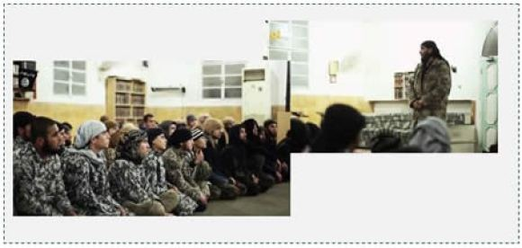 5 ISIS preacher encouraging young people to sacrifice themselves on behalf of ISIS as suicide bombers