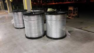 Large spools contained hidden marijuana
