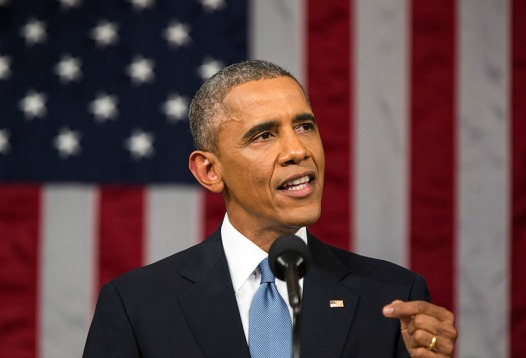 President Obama delivers the State of the Union address Jan. 20 2015