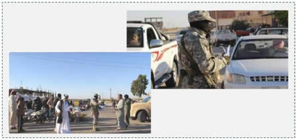 4 Operatives of ISISs Sinai province distributing leaflets