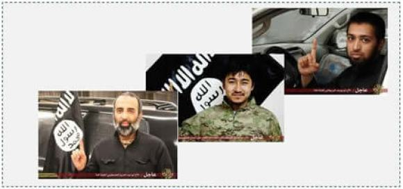 Three of the seven suicide bombers Abu Abdul Aziz  Abu Siddiq Abu Yusuf the Briton