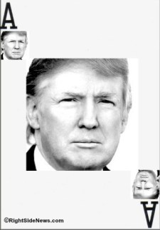 Trump Black and White Card RSN 320