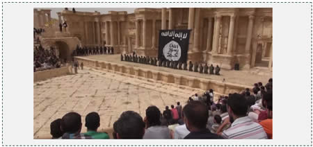 Execution in the ancient city of Palmyra (The Long War Journal, July 5, 2015)
