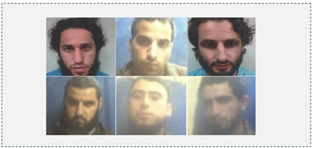 5 The six Bedouin detainees from the Al-Qiyan clan