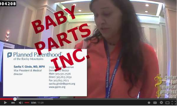 PLANNED PARENTHOOD VIDEOS