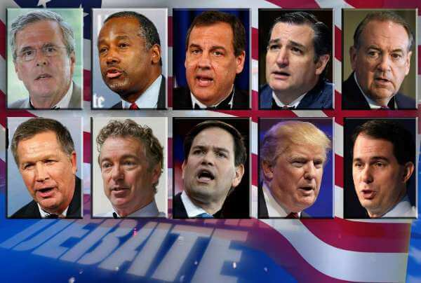 GOP DEBATE AUG 6