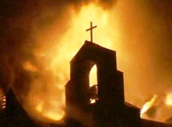 Churches Torched