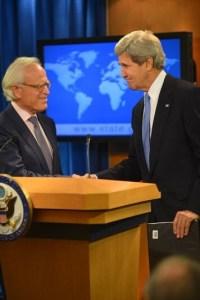 Amb Martin Indyk with John Kerry