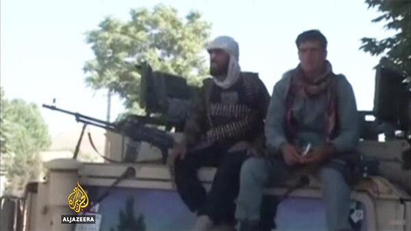 Taliban militiamen