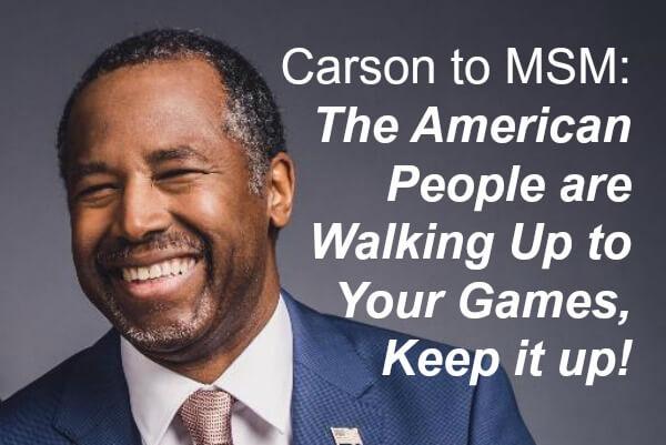 Ben Carson MSM Bias