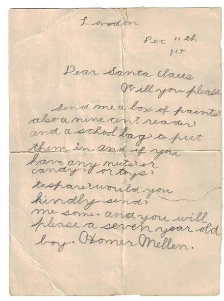 100 Year Old Christmas List From A 7 Year Old Boy Shows How Materialistic Our Society Has Become-media-3
