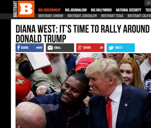 Breitbart Diana West Trump
