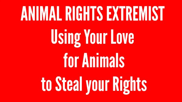 Animal Rights Extremists