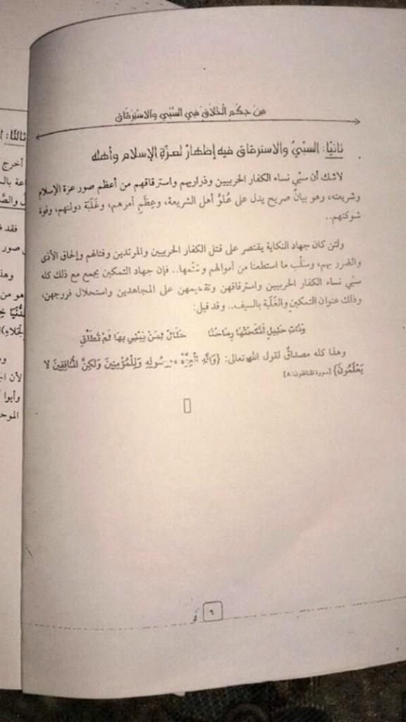Diwan al-Iftaa wa al-Buhuth Pamplet on Slavery 6
