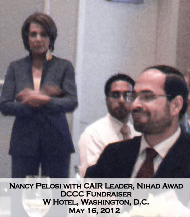Pelosi and Nihad Awad