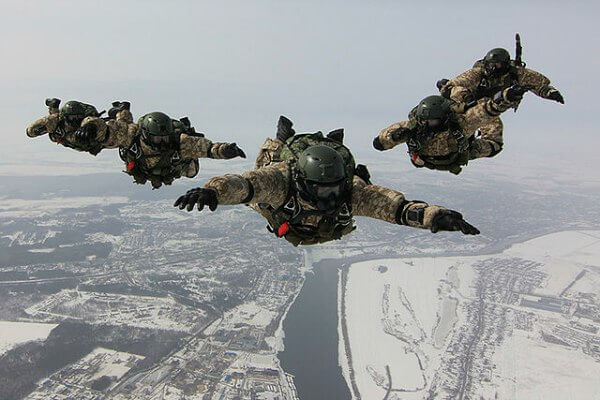Russian military special forces