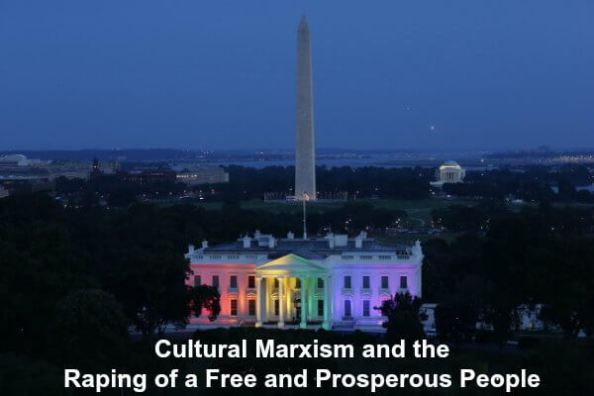 Cultural Marxism Raping Freedom
