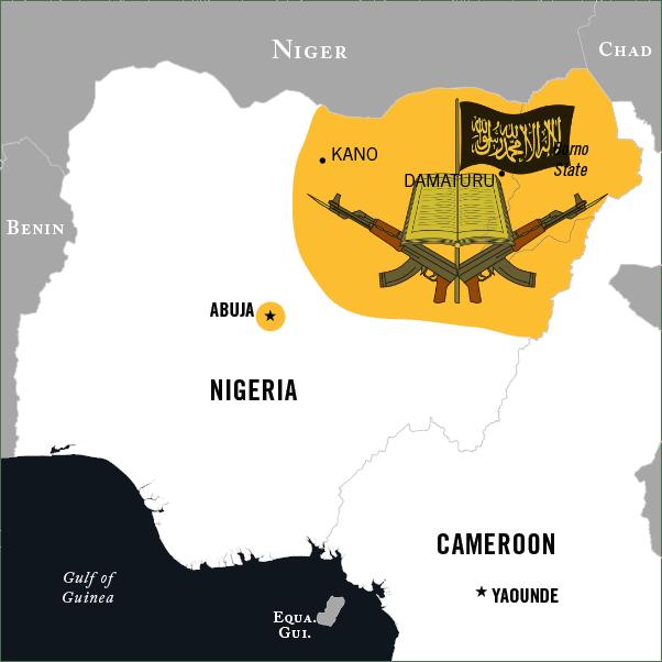 BOKO HARAM MAP