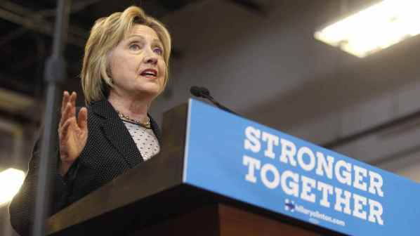 Hillary Clinton Stronger Together