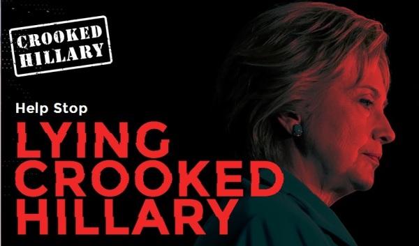 lyingcrookedhillary.com