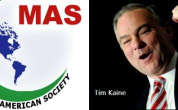 Tim Kaine Muslim American Society