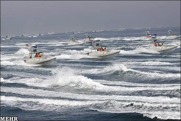 IRGCN patrol boats