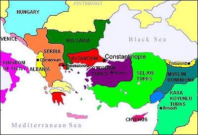 Ottoman Empire at 1350