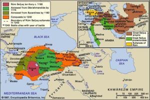 Figure 2: Seljuk Empire[iv]