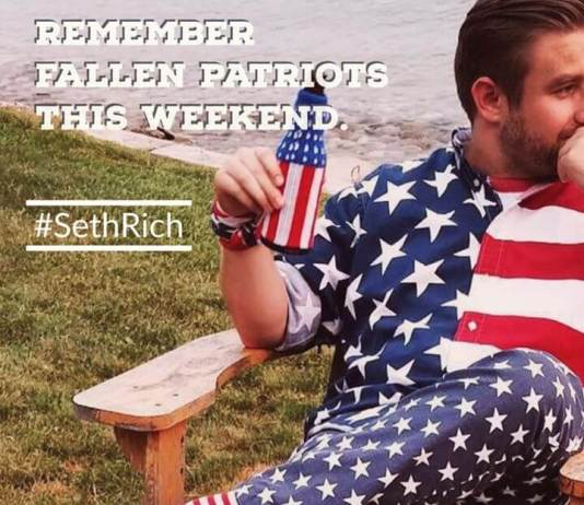 JUDICIAL WATCH FILES FOIA FOR SETH RICH INFORMATION