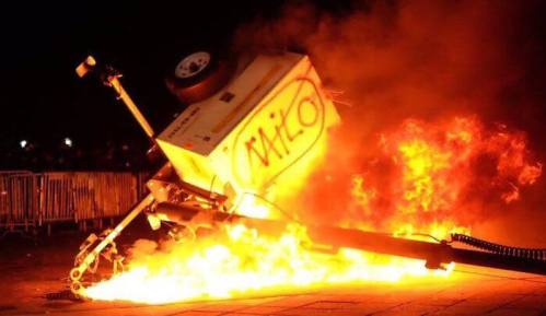Suppression of expression on campus milo riot berkely