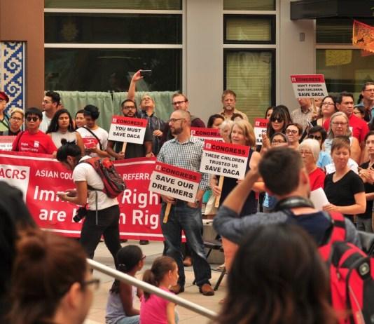 DACA Protest government shutdown
