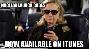 Clinton Email Nuclear Launch Codes